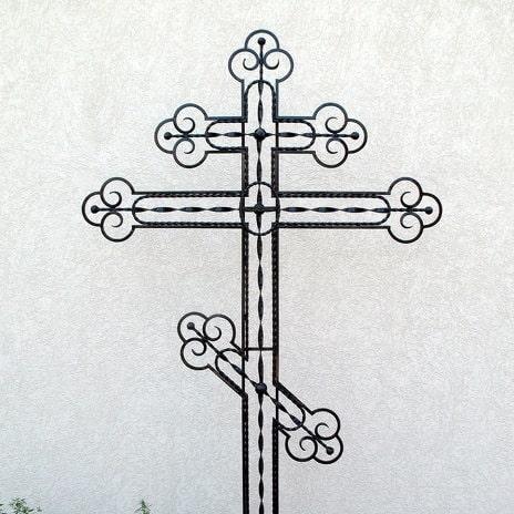 Кованые кресты на могилу в Красноярске
