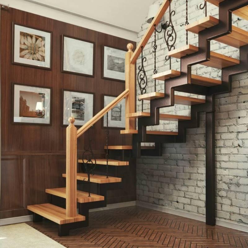 Лестницы в частный дом в Красноярске
