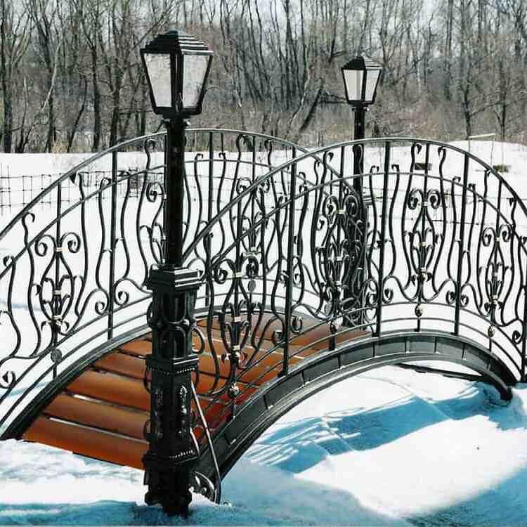 Садовые мостики в Красноярске
