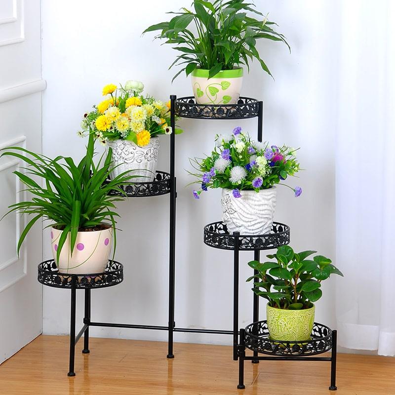 Купить кованые подставки для цветов в Красноярске