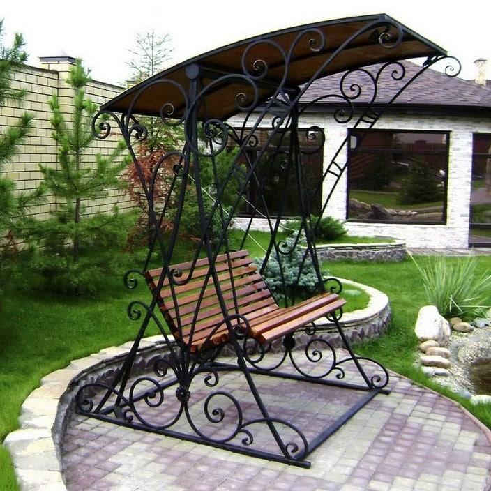 Купить садовую скамейку в Красноярске